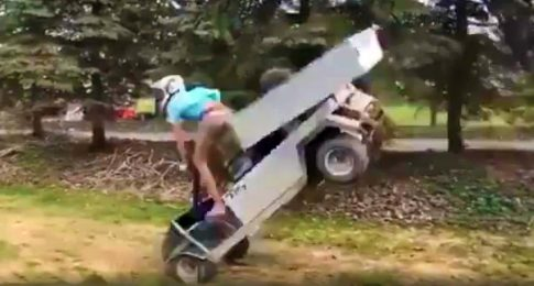Bad Day for This Daredevil Wannabe