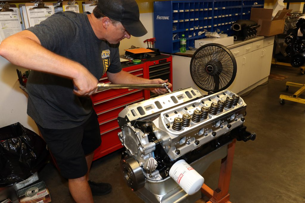 Prestige Motorsports small block ford cylinder heads