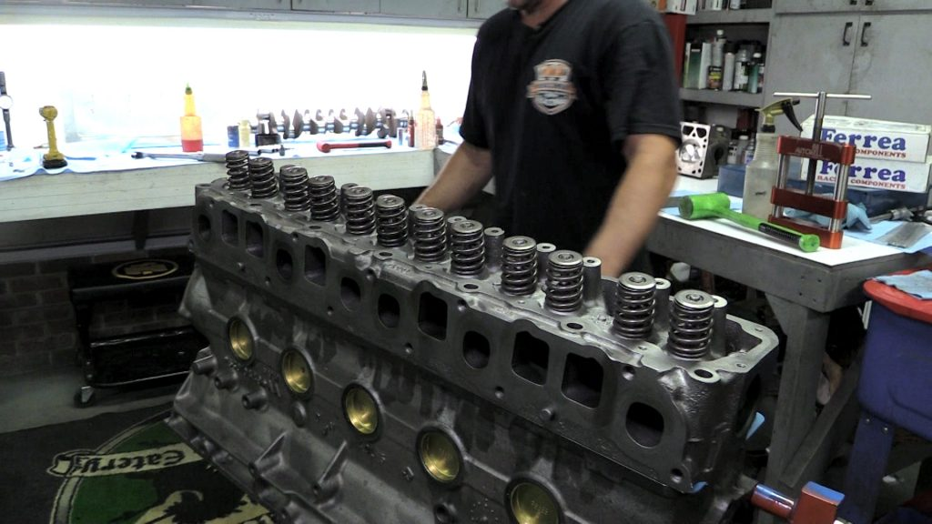 Jeep 4.0 engine build