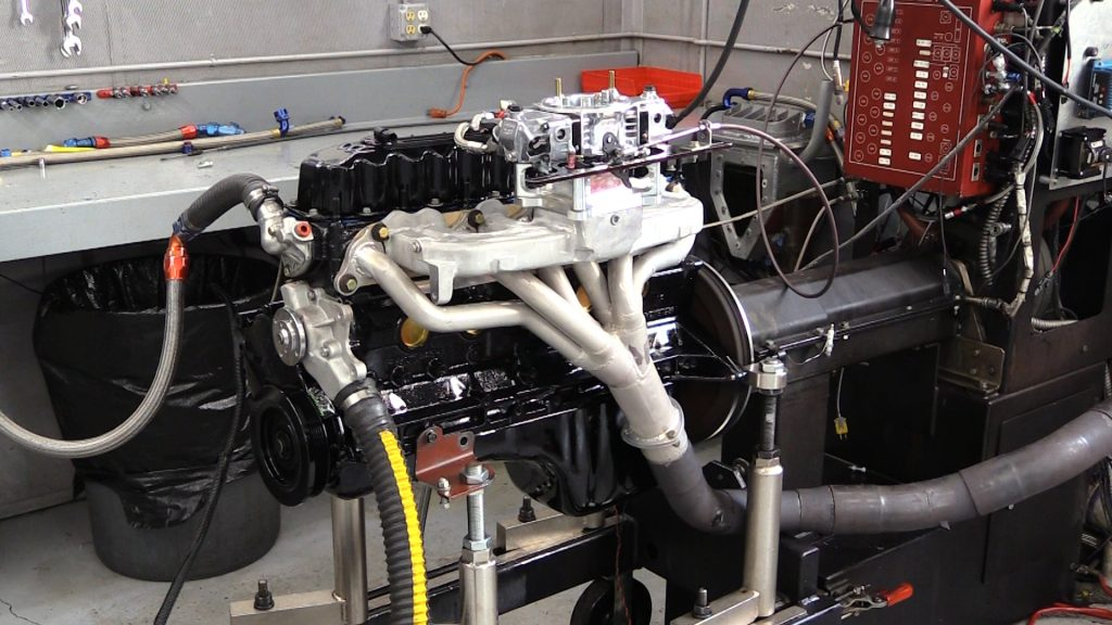 Jeep stroker 4.0 on the dyno