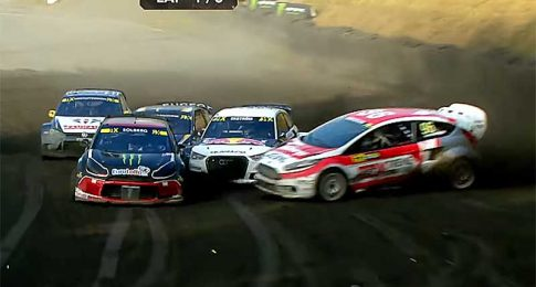 Quite Possibly the Greatest Rallycross Pass Ever