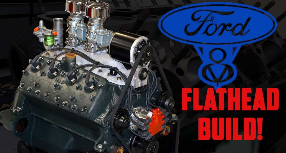 All the Oddities of Ford's Famous Flathead V8 (Full Engine Build)